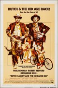 "Movie Posters:Western, Butch Cassidy and the Sundance Kid (20th Century Fox, R-1973). Folded, Fine+. One Sheet (27"" X 41""). Western.. ..."
