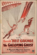 """Movie Posters:Serial, The Galloping Ghost (Mascot, 1931). Fine+ on Linen. One Sheet (27"""" X 41""""). Serial.. ..."""