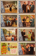 """Movie Posters:Musical, My Gal Loves Music (Universal, 1944). Very Fine-. Lobby Card Set of 8 (11"""" X 14"""") with Studio Envelope. Musical.. ... (Total: 9 Items)"""
