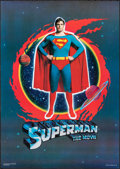 """Movie Posters:Action, Superman the Movie (Toe Factories, 1978). Rolled, Very Fine+. Scottish Commercial Poster (22.5"""" X 32""""). Action.. ..."""