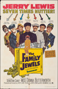 """Movie Posters:Comedy, The Family Jewels & Other Lot (Paramount, 1965). Folded, Fine+. One Sheet (27"""" X 41"""") & Lobby Card Set of 8 (11"""" X 14""""). Com... (Total: 9 Items)"""