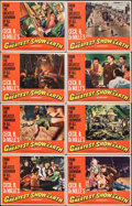 """Movie Posters:Drama, The Greatest Show on Earth & Other Lot (Paramount, R-1967). Very Fine. Lobby Card Set of 8 & Lobby Card Set of 4 (11"""" X 14"""")... (Total: 12 Items)"""