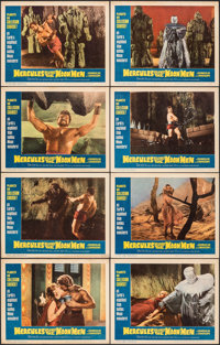 "Hercules Against the Moon Men & Other Lot (Governor Films, 1965). Very Fine-. Lobby Card Sets of 8 (2 Sets) (11""..."