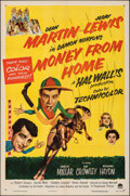 """Movie Posters:Comedy, Money from Home (Paramount, 1954). Folded, Fine/Very Fine. One Sheet (27"""" X 41""""). Comedy.. ..."""