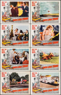 """Movie Posters:Sports, Red Line 7000 & Other Lot (Paramount, 1965). Fine/Very Fine. Lobby Card Sets of 8 (2 Sets) (11"""" X 14""""). Sports.. ... (Total: 16 Items)"""