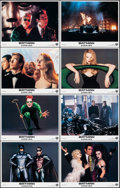 """Movie Posters:Action, Batman Forever (Warner Bros., 1995). Very Fine/Near Mint. Lobby Card Set of 8 (11"""" X 14""""). Action.. ... (Total: 8 Items)"""