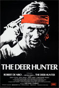 "Movie Posters:Academy Award Winners, The Deer Hunter (EMI, 1978). Rolled, Very Fine+. British One Sheet (27"" X 40""). Fred Atkins Artwork. Academy Award Winners...."