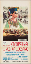 """Movie Posters:Foreign, A Queen for Caesar (Royal, 1962). Folded, Very Fine-. Italian Locandina (13"""" X 27""""). Foreign.. ..."""