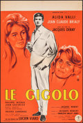 "Movie Posters:Foreign, The Gigolo (Consortium Pathe, 1960). Folded, Very Fine-. French Petite (15.75"" X 23.5"") Yves Thos Artwork. Foreign.. ..."