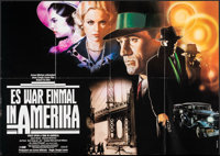 """Once Upon a Time in America (PSO, 1984). Folded, Very Fine-. German A0 (46.75"""" X 33"""") & German A1 (33""""..."""