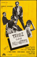 "Movie Posters:Foreign, Shoot the Piano Player (Cocinor, 1960). Folded, Very Fine-. French Petite (15.25"" X 23.5""). Foreign.. ..."