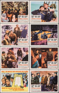 "Movie Posters:War, The Guns of Navarone (Columbia, R-1966). Very Fine/Near Mint. Lobby Card Set of 8 (11"" X 14""). Howard Terpning Artwork. War.... (Total: 8 Items)"