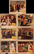 """Movie Posters:Drama, Hoosier Schoolboy & Other Lot (Monogram, 1937). Fine. Lobby Cards (15) & Title Lobby Card (11"""" X 14""""). Drama.. ... (Total: 16 Items)"""