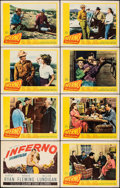 """Movie Posters:Drama, Inferno (20th Century Fox, 1953). Overall: Very Fine-. Lobby Card Set of 8 (11"""" X 14""""). Drama.. ... (Total: 8 Items)"""