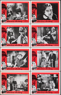 """The Nanny (20th Century Fox, 1965). Very Fine+. Lobby Card Set of 8 (11"""" X 14"""") with Envelope. Thriller. ... (..."""