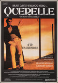 """Movie Posters:Foreign, Querelle (Mundial Films, 1982). Folded, Very Fine. Spanish One Sheet (27.5"""" X 39.25""""). Foreign.. ..."""