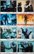 """Movie Posters:Action, RoboCop (Orion, 1987). Very Fine/Near Mint. Lobby Card Set of 8 (11"""" X 14""""). Action.. ... (Total: 8 Items)"""