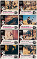 """Movie Posters:Drama, Tell Them Willie Boy is Here (Universal, 1970). Very Fine+. Lobby Card Set of 8 (11"""" X 14""""). Drama.. ... (Total: 8 Items)"""
