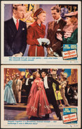 """Movie Posters:Musical, The Barkleys of Broadway (MGM, 1949). Fine/Very Fine. Lobby Cards (2) (11"""" X 14""""). Musical.. ... (Total: 2 Items)"""