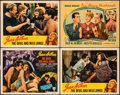 """Movie Posters:Comedy, The Devil and Miss Jones & Other Lot (RKO, 1941). Fine/Very Fine. Title Lobby Card & Lobby Card (11"""" X 14""""). Comedy.. ... (Total: 4 Items)"""