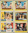"Movie Posters:Comedy, The French Line & Other Lot (RKO, 1954). Overall: Very Fine-. Lobby Cards (6) (11"" X 14""). Comedy.. ... (Total: 6 Items)"
