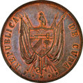 Cuba, Cuba: Provisional Republic copper Proof Pattern Peso 1870 P-CT PR62 Red and Brown NGC,...
