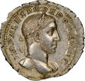 Ancients:Roman Imperial, Ancients: Severus Alexander (AD 222-235). AR denarius (20mm, 2.91 gm, 11h). NGC MS★ 5/5 - 4/5, Fine Style. ...