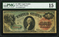 Fr. 18 $1 1869 Legal Tender PMG Choice Fine 15