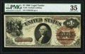 Fr. 28 $1 1880 Legal Tender PMG Choice Very Fine 35