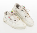 Collectible, Apple. Apple Computer Sneakers, late 20th century. Pair of sneakers. Size 9 1/2. ...