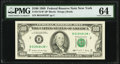 Fr. 2172-B* $100 1988 Federal Reserve Star Note. PMG Choice Uncirculated 64