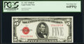 Small Size:Legal Tender Notes, Fr. 1527 $5 1928B Legal Tender Note. PCGS Very Choice New 64PPQ.. ...