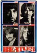 Movie Posters:Rock and Roll, The Beatles (Pop Music Express, 1969). Folded, Fine/Very F...