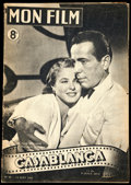"Movie Posters:Academy Award Winners, Casablanca (Warner Bros., 1947). Fine/Very Fine. First Post-War Release French Program (16 Pages, 8"" X 11.75"").. ..."