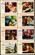 """Movie Posters:Hitchcock, Rear Window (Paramount, 1954). Very Fine-. Lobby Card Set of 8 (11"""" X 14"""").. ... (Total: 8 Items)"""