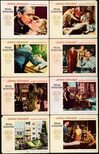 """Rear Window (Paramount, 1954). Very Fine-. Lobby Card Set of 8 (11"""" X 14""""). ... (Total: 8 Items)"""