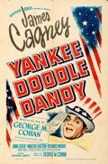 "Movie Posters:Musical, Yankee Doodle Dandy (Warner Bros., 1942). Folded, Fine+. One Sheet (27"" X 41"").. ..."