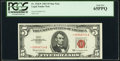 Fr. 1536* $5 1963 Legal Tender Star Note. PCGS Gem New 65PPQ
