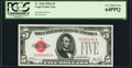 Fr. 1526 $5 1928A Legal Tender Note. PCGS Very Choice New 64PPQ