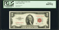 Small Size:Legal Tender Notes, Fr. 1512* $2 1953C Legal Tender Star Note. PCGS Gem New 66PPQ.. ...