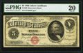 Large Size:Silver Certificates, Fr. 260 $5 1886 Silver Certificate PMG Very Fine 20.. ...