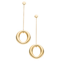 Gold Earrings, Paloma Picasso for Tiffany & Co
