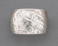 American Indian Art:Jewelry and Silverwork, A Northwest Coast Engraved Silver Cuff Bracelet...
