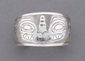 American Indian Art:Jewelry and Silverwork, A Northwest Coast Engraved Silver Bracelet...