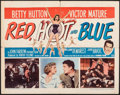 "Movie Posters:Comedy, Red, Hot and Blue (Paramount, 1949). Folded, Fine. Half Sheet (22"" X 28"") Style B. Comedy.. ..."