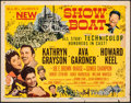 """Movie Posters:Musical, Show Boat (MGM, 1951). Fine. Title Lobby Card (11"""" X 14""""). Musical.. ..."""