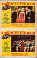 "Movie Posters:Musical, Singin' in the Rain (MGM, 1952). Fine+. Lobby Cards (2) (11"" X 14""). Musical.. ... (Total: 2 Items)"