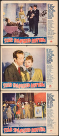 "Movie Posters:Comedy, Star Spangled Rhythm (Paramount, 1942). Fine+. Lobby Cards (3) (11"" X 14""). Comedy.. ... (Total: 3 Items)"