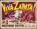 "Movie Posters:Drama, Viva Zapata! (20th Century Fox, 1952). Fine+. Title Lobby Card (11"" X 14""). Drama.. ..."