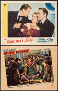 "Movie Posters:Western, Union Pacific & Other Lot (Paramount, 1939). Fine+. Lobby Cards (2) (11"" X 14""). Western.. ... (Total: 2 Items)"